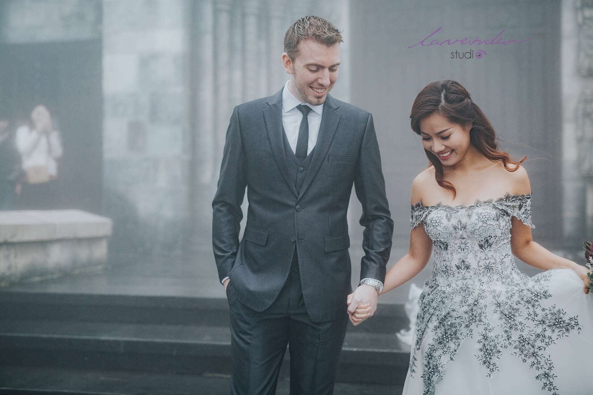 Phim trường chụp hình cưới tại Đà Nẵng lavender studio