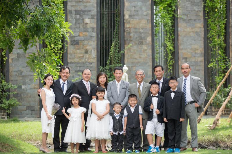 hình gia đình nhiều thế hệ