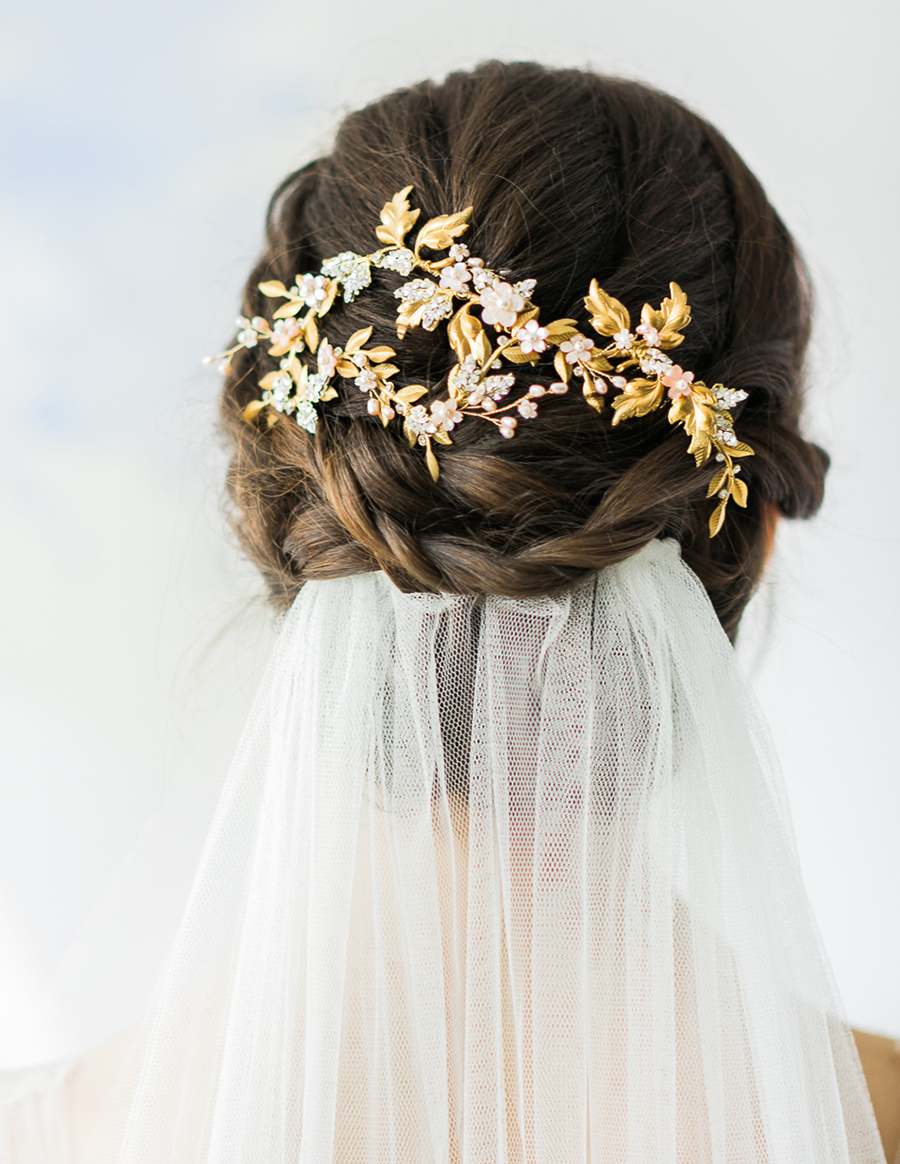 lúp cưới cho tóc bối xinh xắn