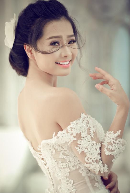 make up cô dâu đẹp
