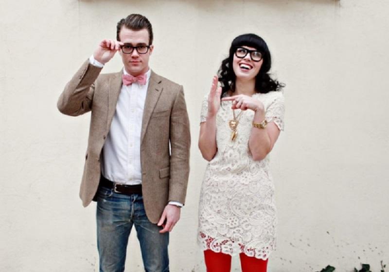 nghệ thuật chup hình cưới hipster