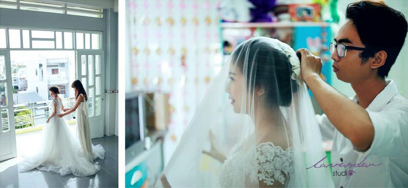 phong cách tự nhiên khi chụp hình cưới phóng sự