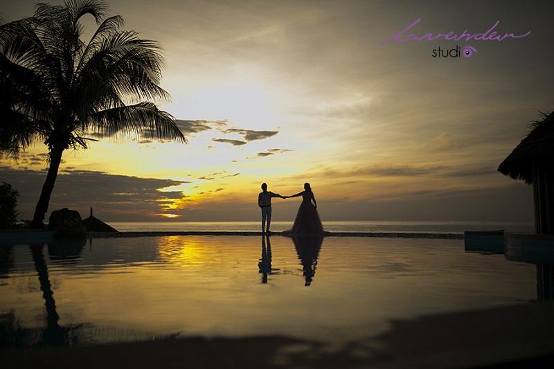 chụp hình cưới và du lịch tại rock water bay resort