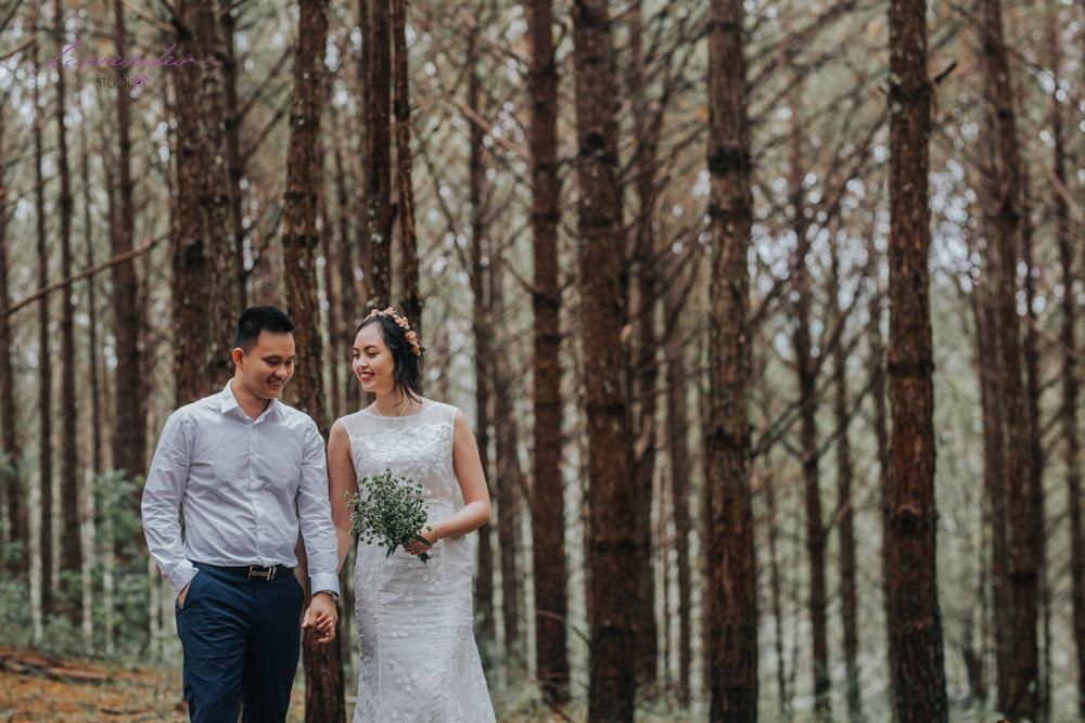 chụp hình cưới ở đâu rẻ tại Đà Lạt