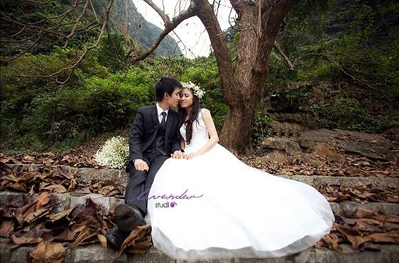 Chụp hình cưới-chụp hình cưới ở studio hà nội
