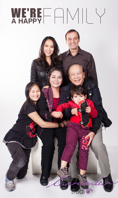 Chụp hình gia đình đẹp và nghệ thuật