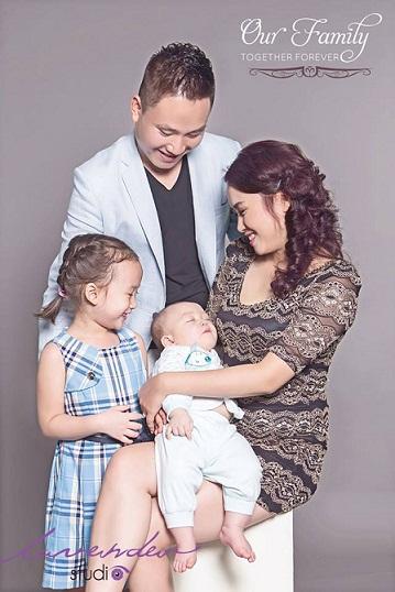 Studio chụp hình gia đình đẹp và ấn tượng