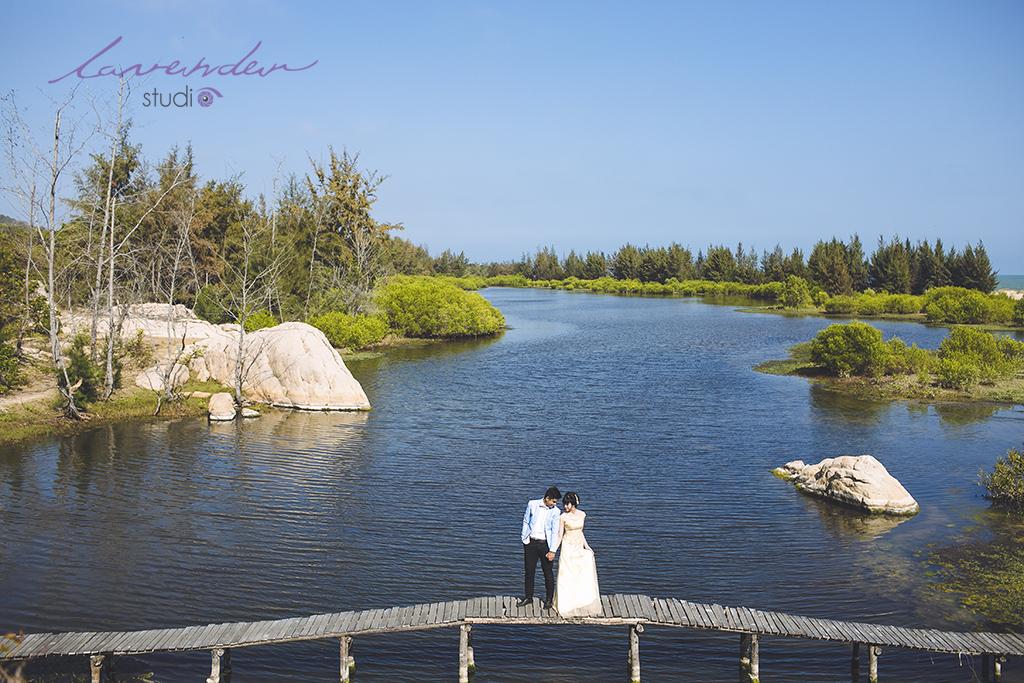 Phim trường chụp hình cưới tại Vũng Tàu