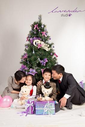 trang phục đẹp cho chụp hình gia đình