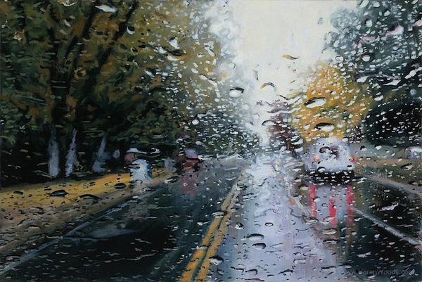 Chụp ảnh nghệ thuật dưới mưa