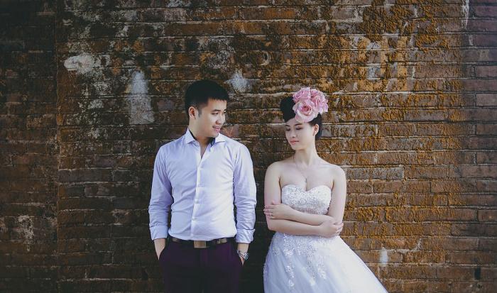 Ảnh cưới mang phong cách vừa hiện đại lại thoáng chút cổ điển