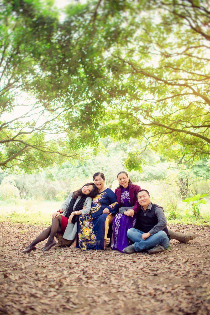6 cảnh đẹp ngoại cảnh chụp ảnh gia đình đẹp tại Hồ Chí Minh