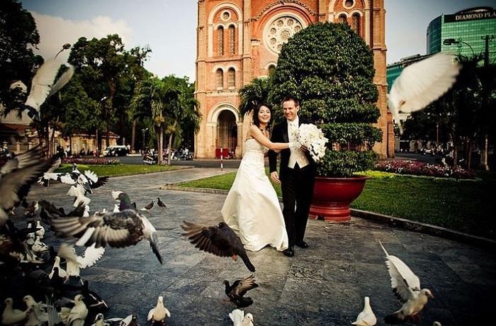 Điểm danh những địa điểm chụp ảnh cưới đẹp nhất Sài Gòn không thể bỏ qua