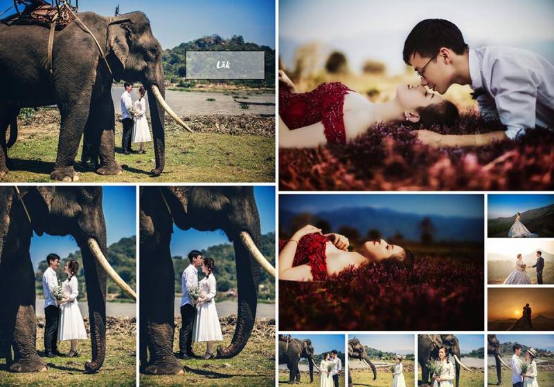 Chụp hình cưới đẹp ở Daklak: Lựa chọn studio nào phù hợp?